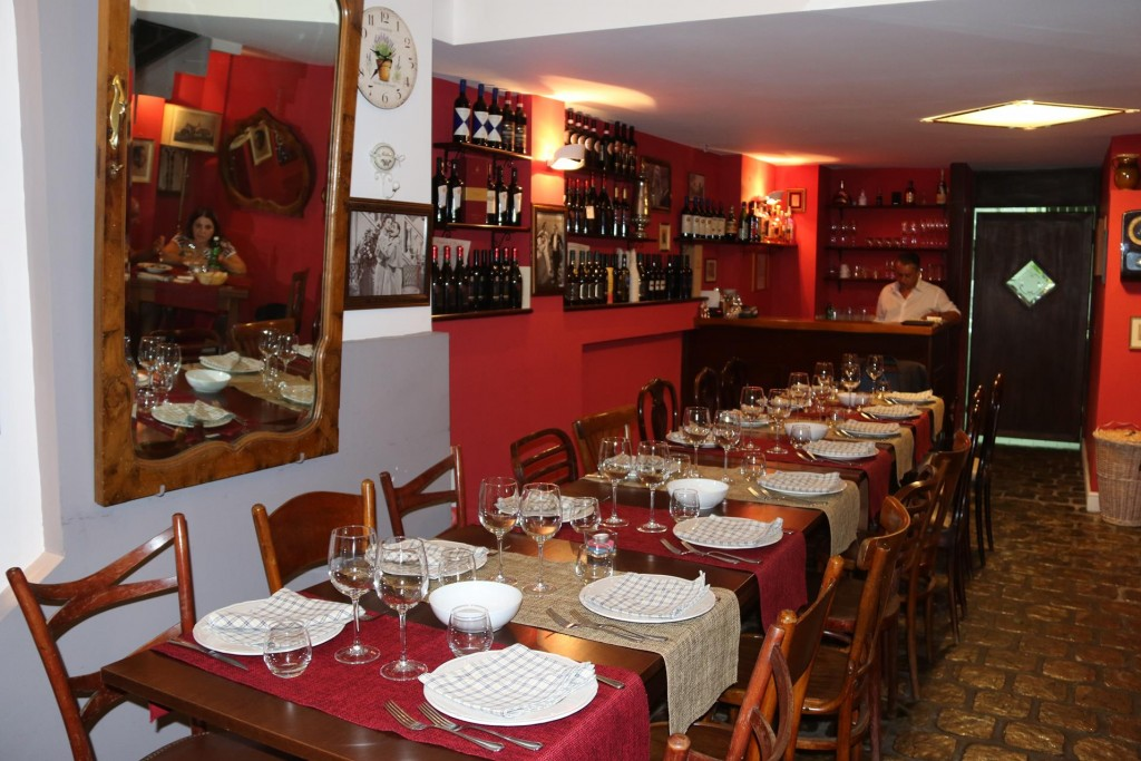 A large table of diners expected at La Gaetano tonight