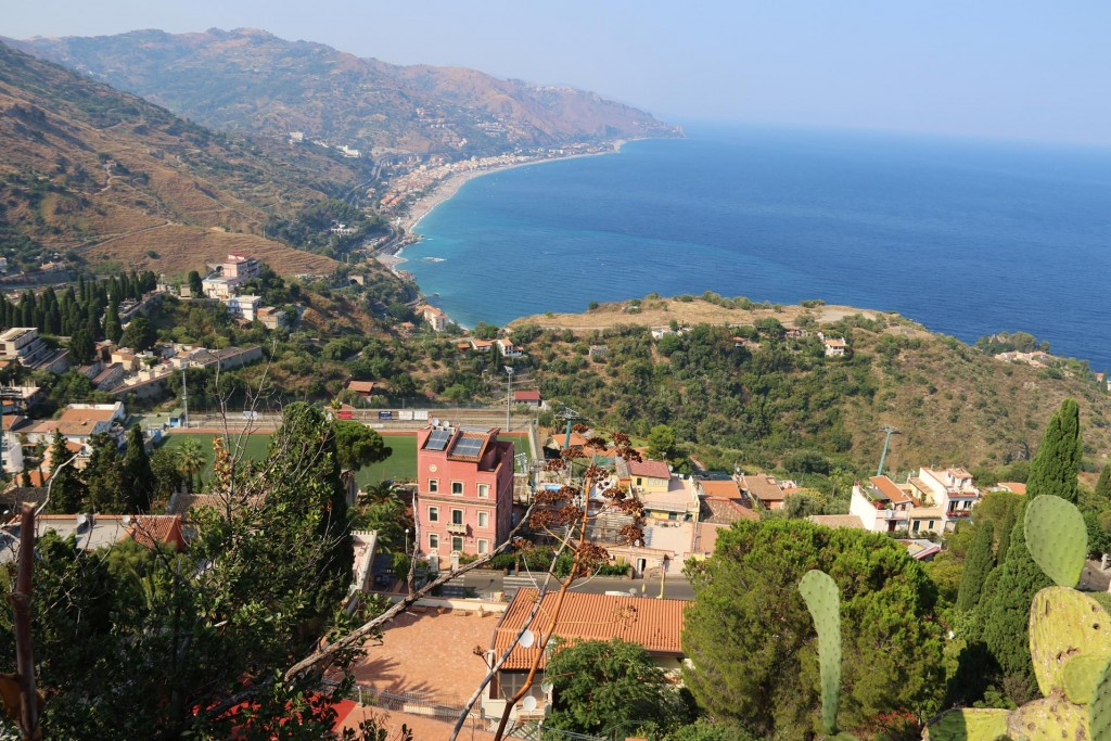 Wonderful views from Taormina
