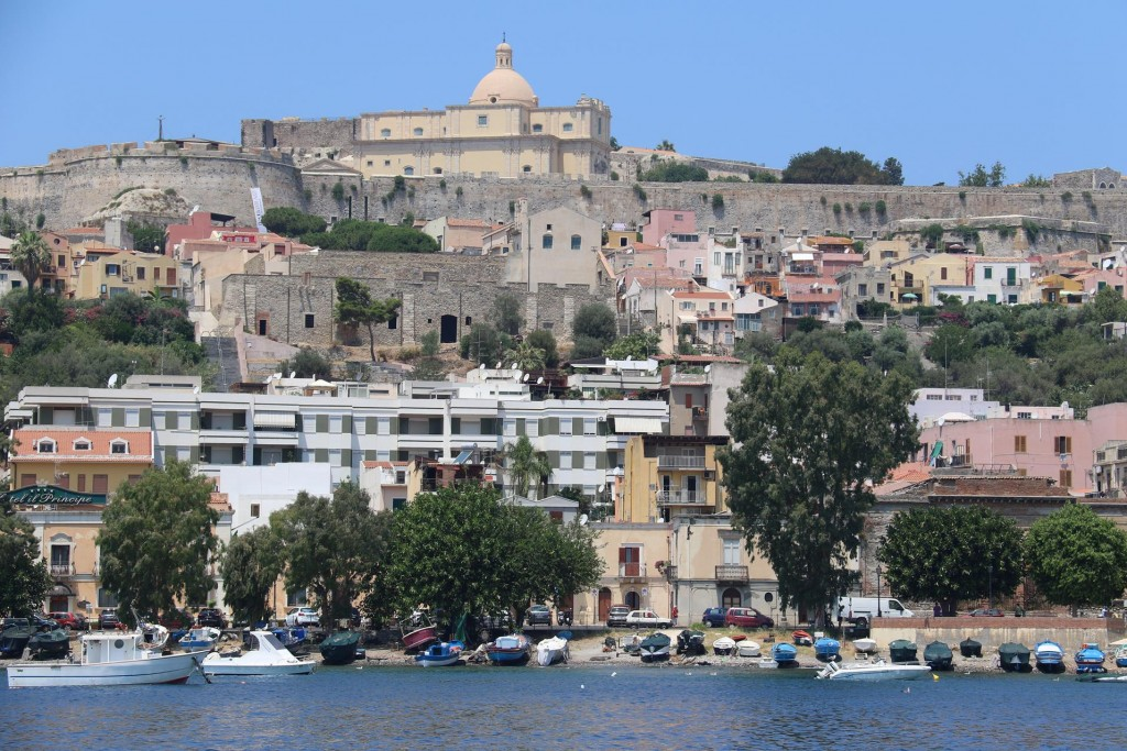 The Salita Castello which is clearly seen from the water was built in 1239