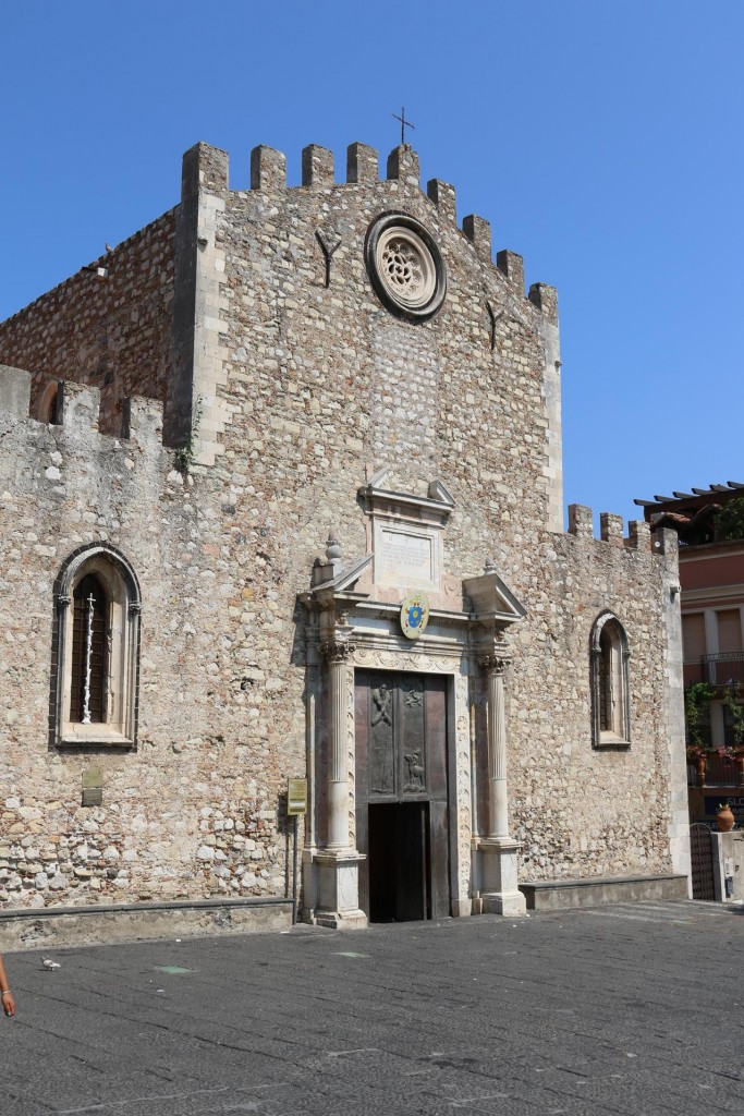 The Cathedral of San Nicolo was built in the 13th Century