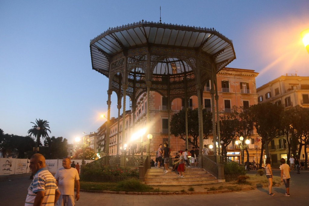 The magnificent rotunda of the town