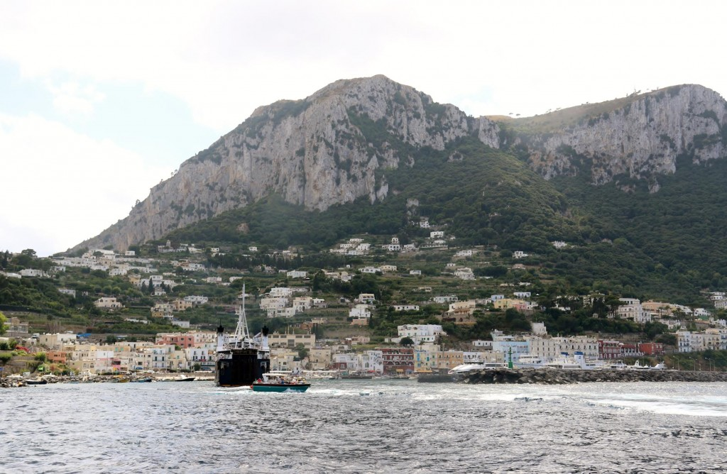 At this time of year it is impossible to get a berth in Capri harbour