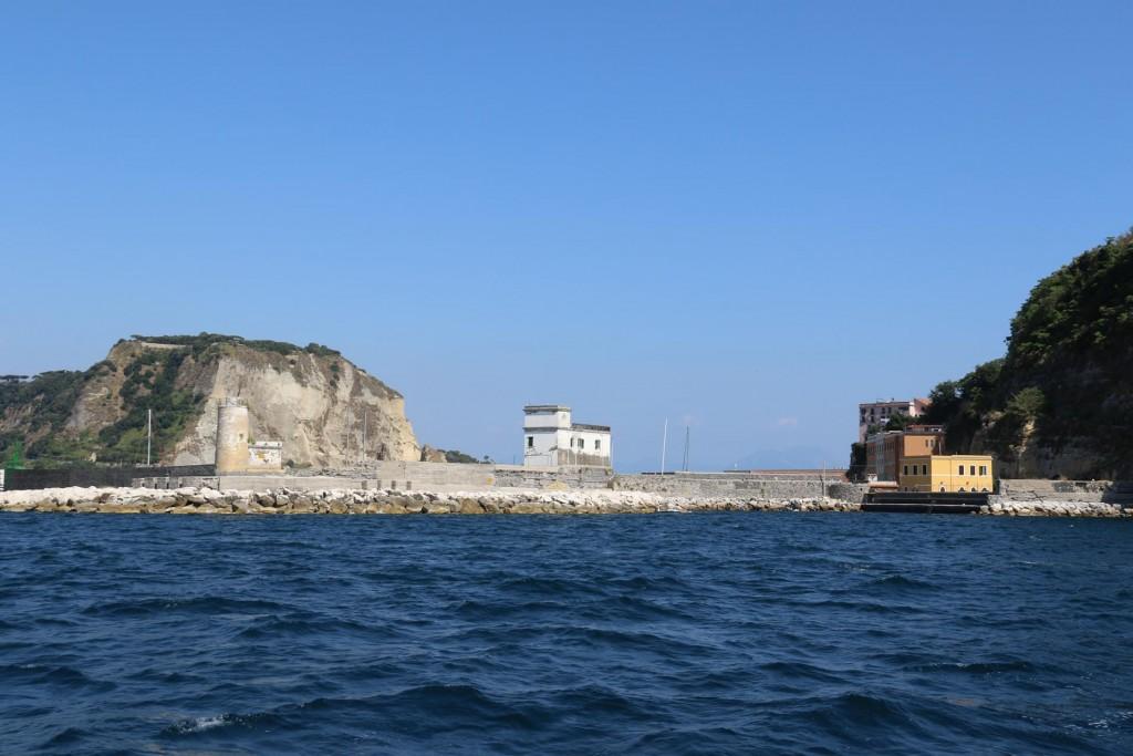 The marina by Isola Nisida