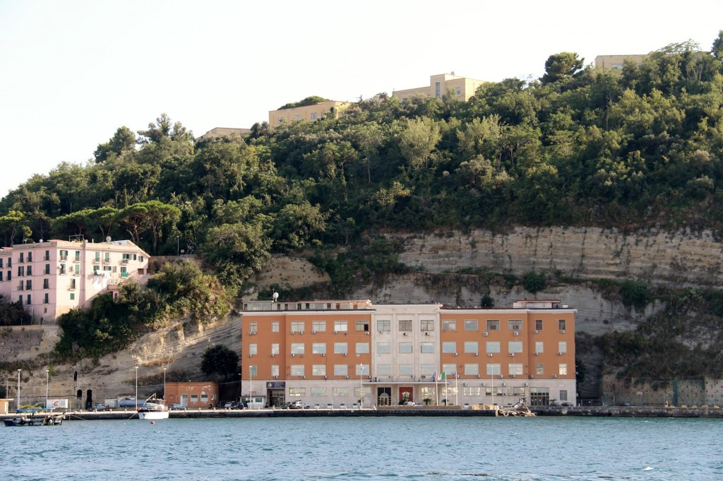 The Port Authority Building in Isola di Nisida