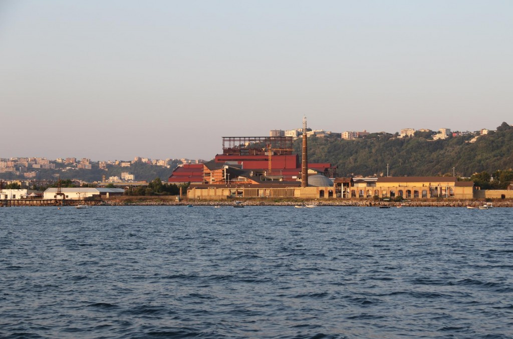 The port by Nisida Island seems to be quite industrial