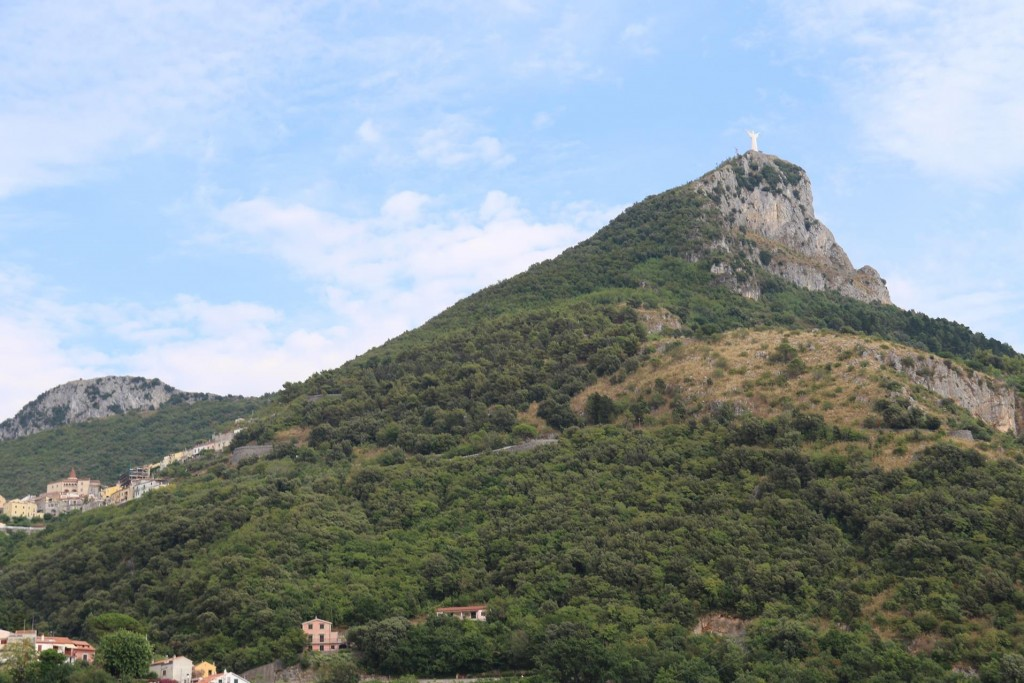 Not far from Maratea, positioned high above on a hilltop is the Statua del Redentore