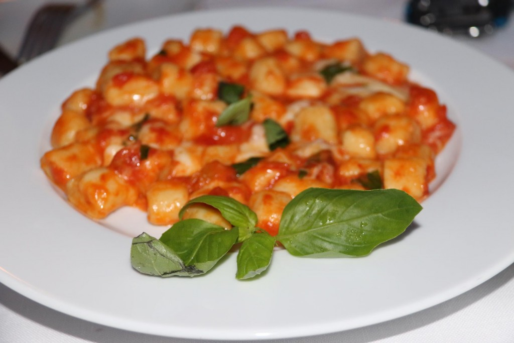 Susie insisted on us trying the gnocchi which was fabulous