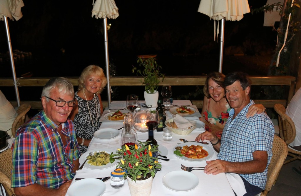 We all agreed that Ristorante La Conca del Sogno was a fabulous choice for dinner tonight