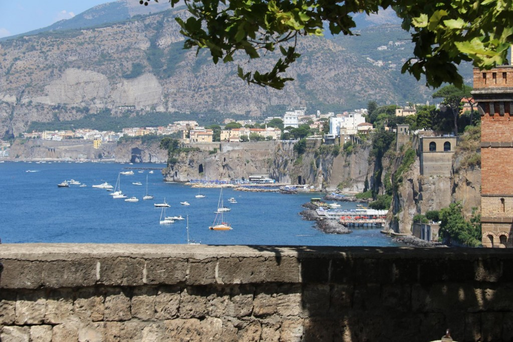 The cliffs of Sorrento