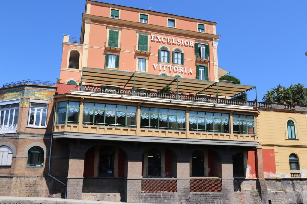 One of the most famous hotels on the Amalfi Coast