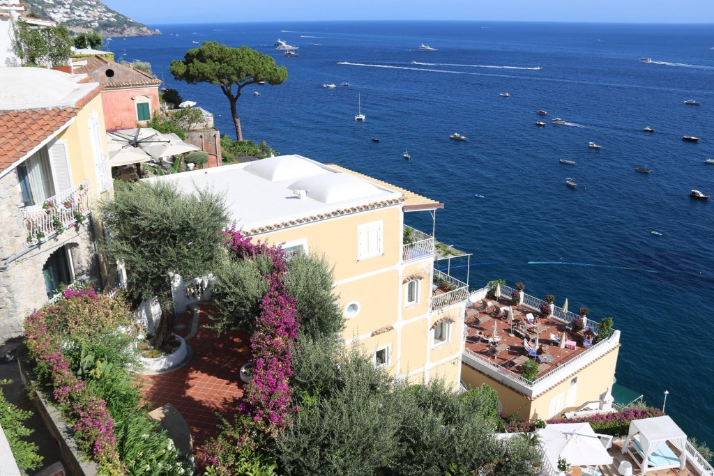 It was time to leave Sorrento and catch a bus to Positano