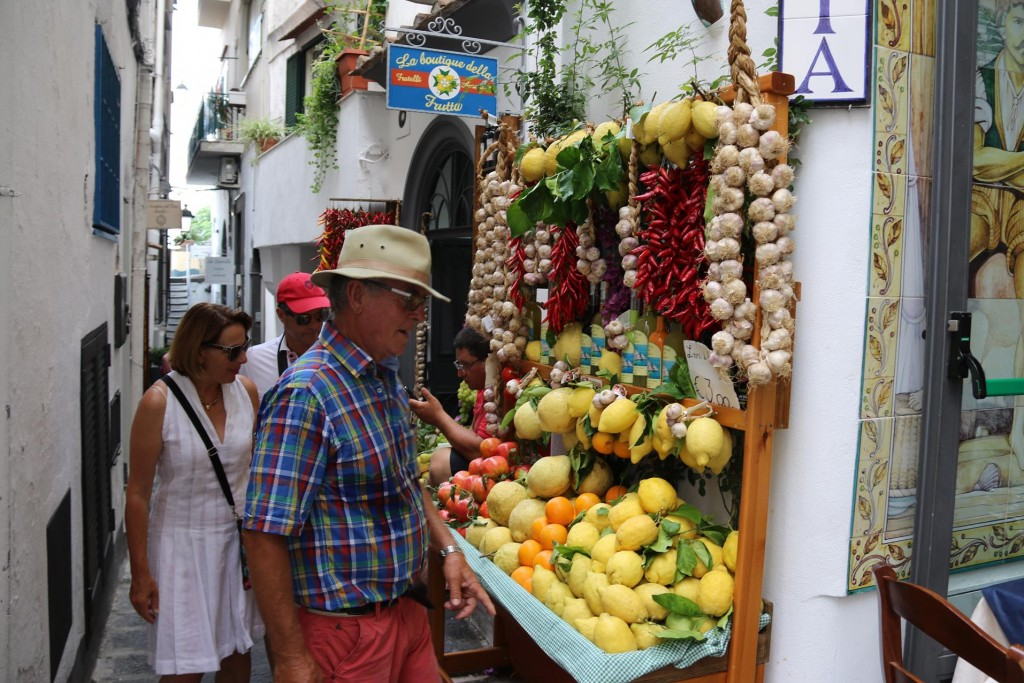 Great fruit and veggies in Italy