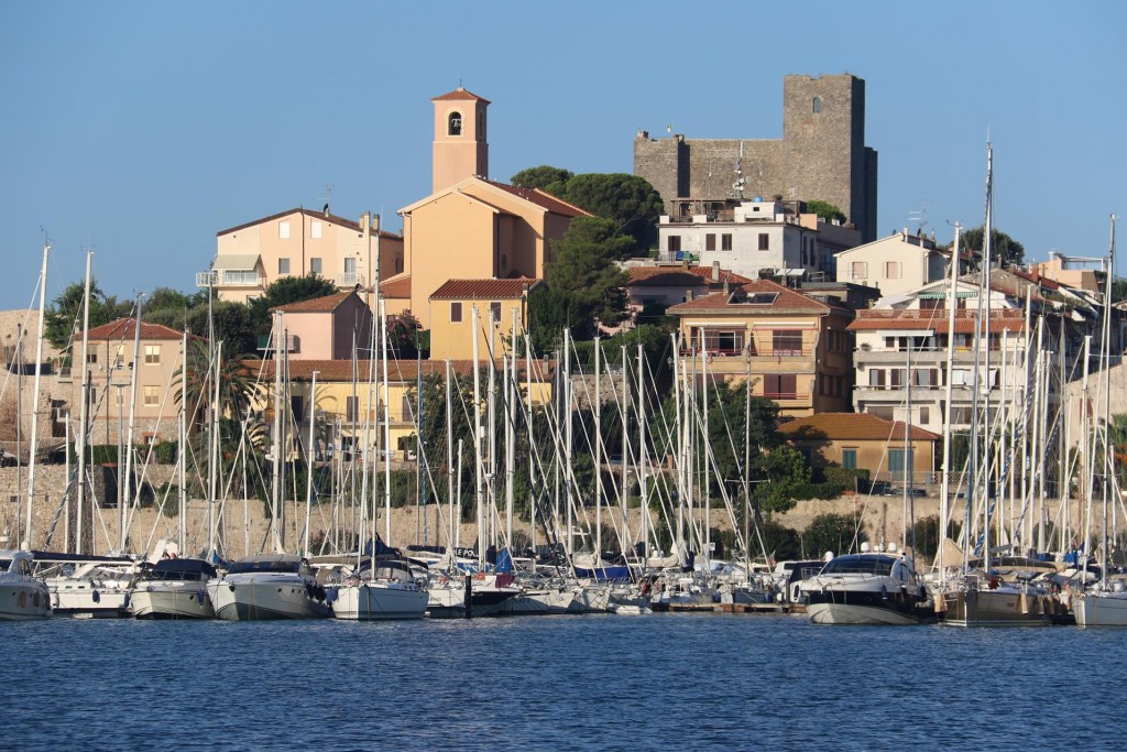 Talamone is a small ancient walled village