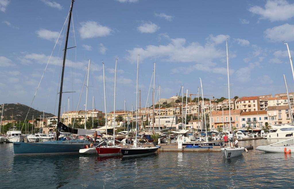 We depart the port of Calvi