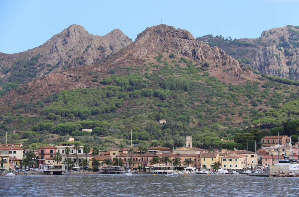 The beautiful port of Azzurro
