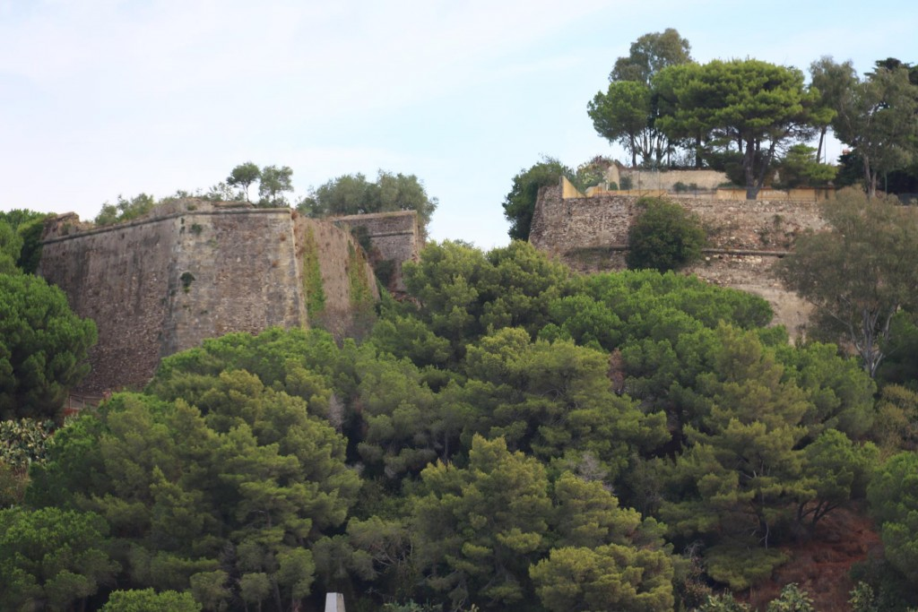 Part of the old city walls