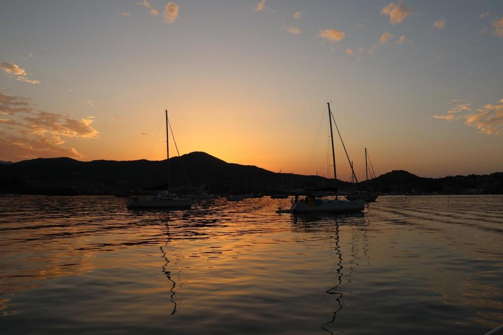 Sunset in Portoferraio