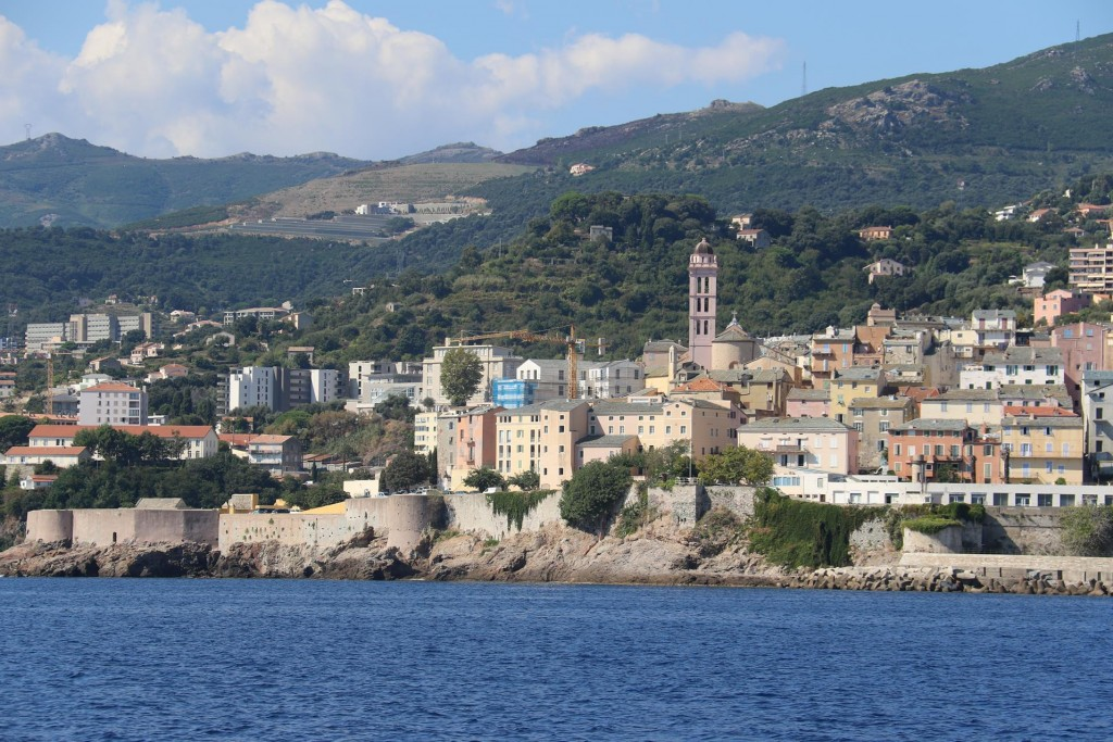 Bastia has substantial remains of it's fortified city walls