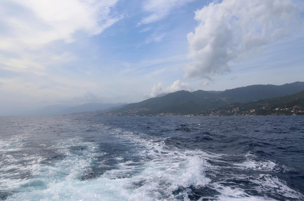 We continue north up the coast from Bastia