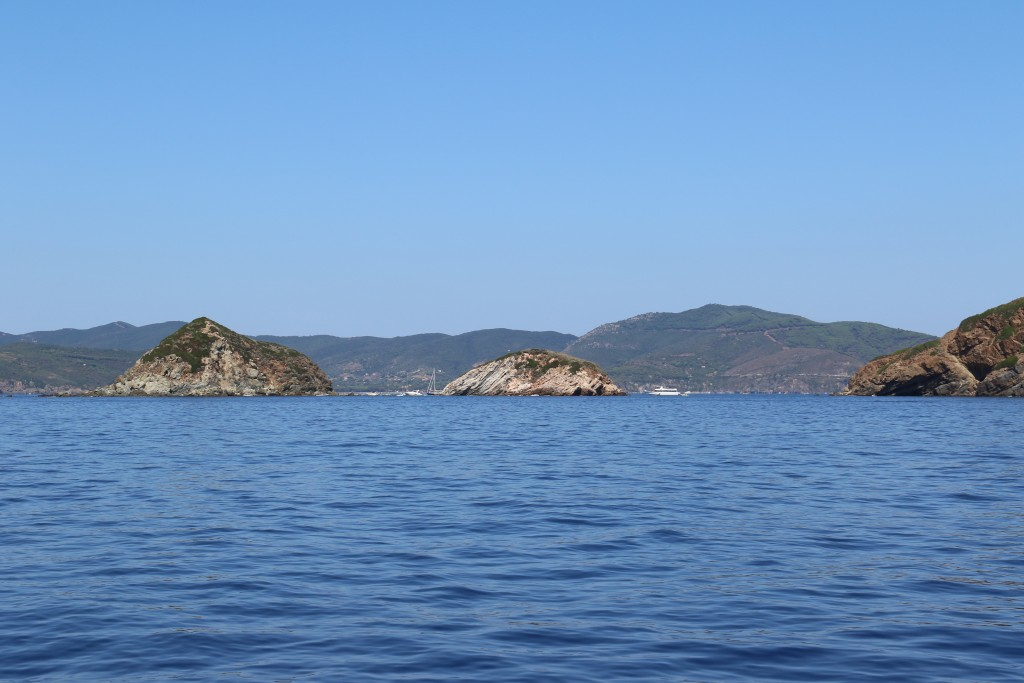 In the distance is the large bay Golfo Stella