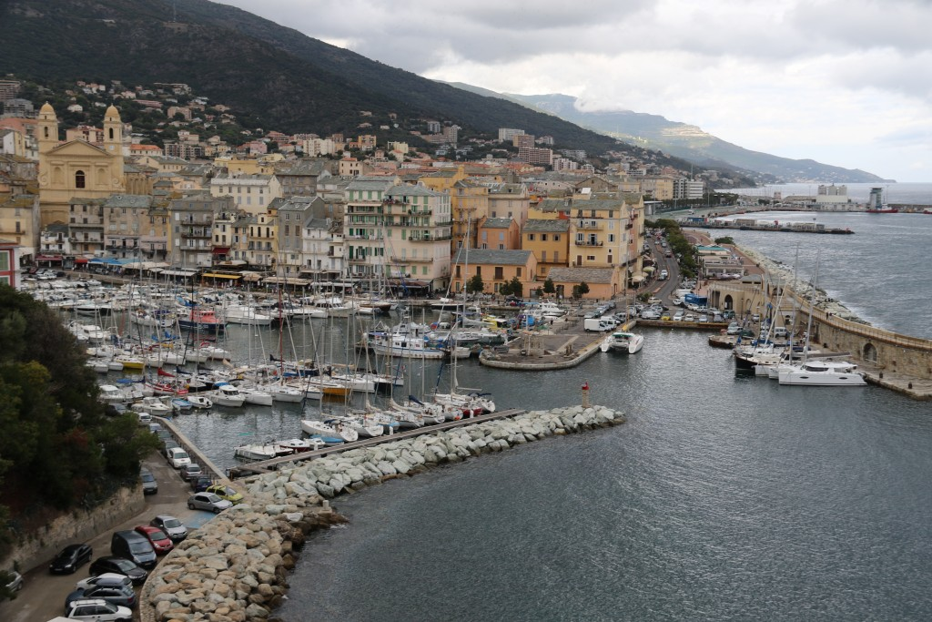 Great views from the old Fort in Bastia