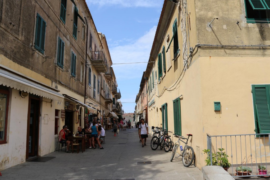 The old hilltop town of Capoliveri is quite charming with it's pedestrian only streets and narrow laneways