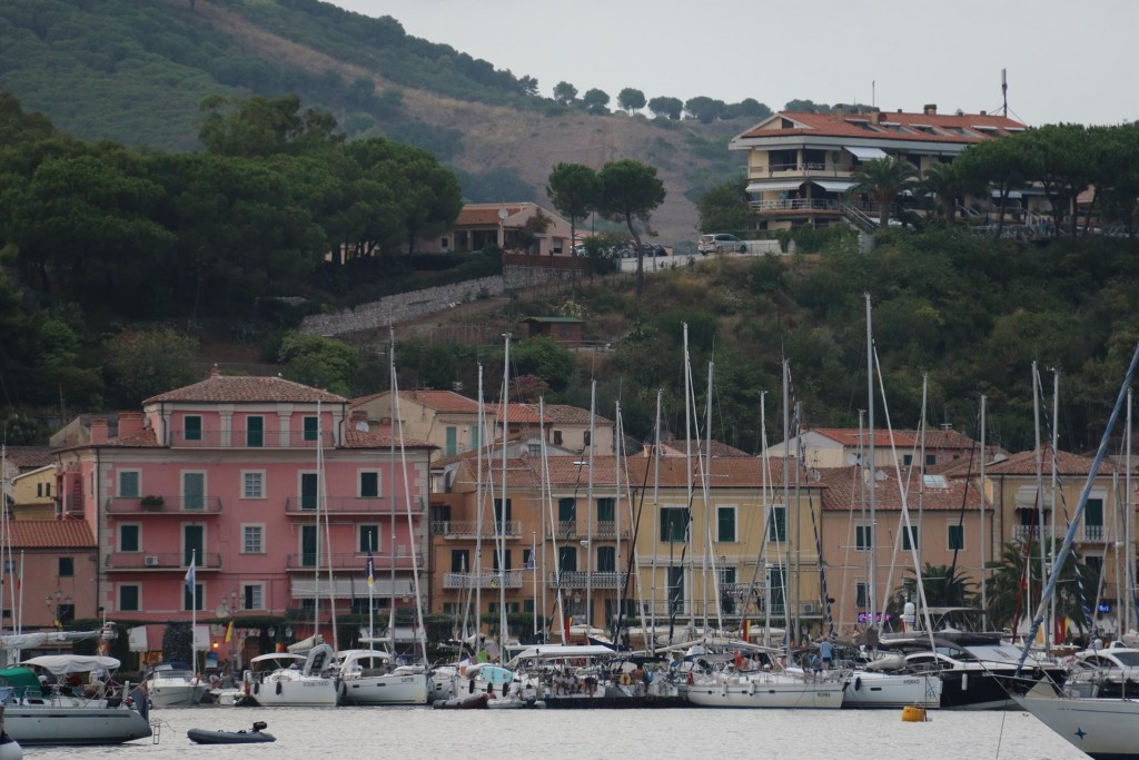 We arrive in another delightful port called Porto Azzurro
