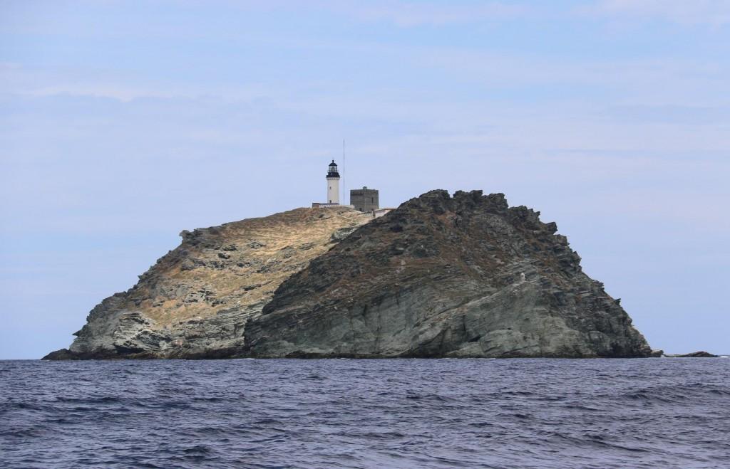 Ile de la Giraglia on the northern tip of Corsica