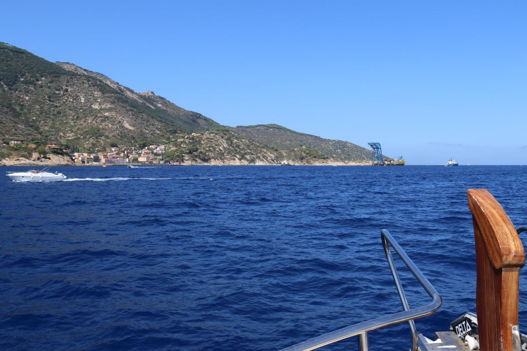 Isola del Giglio was the island where the ill-fated Costa Concordia ran aground a few years ago