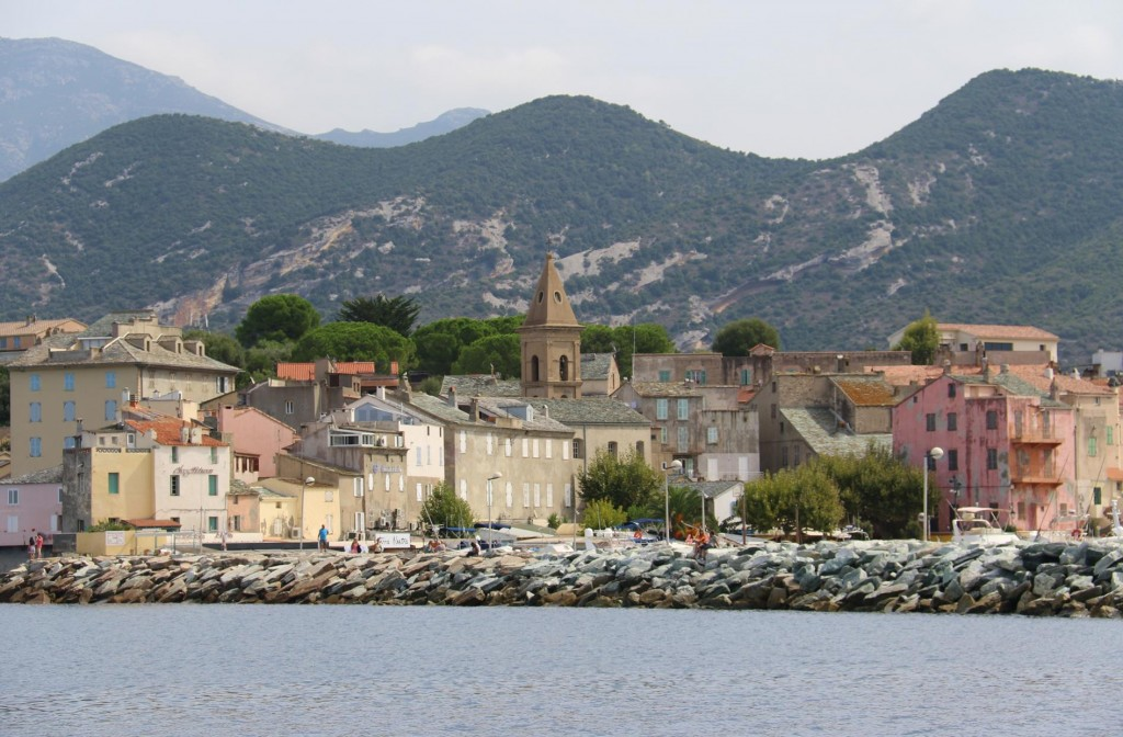 We all enoyed our visit to the port of Saint Florent