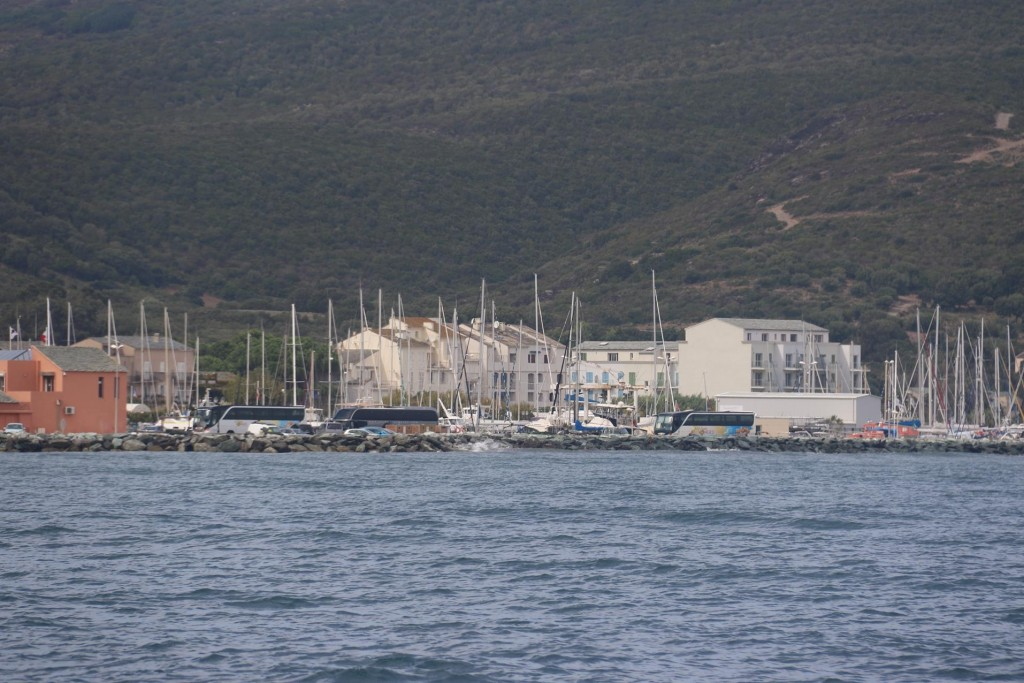 Macinaggio is quite a small town very close to the northern tip of Corsica on Cap Corse