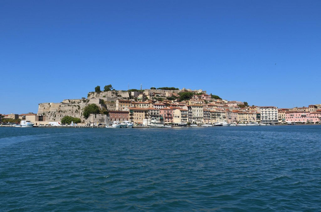 Portoferraio is the most beautiful port on Isola d'Elba