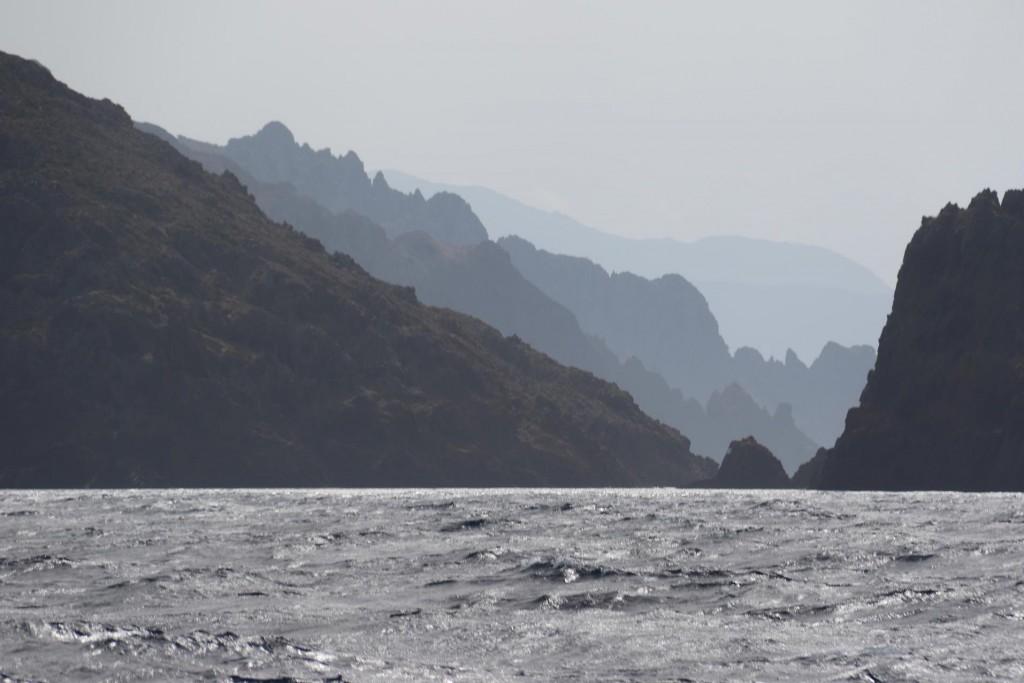Looking towards the Gargalu Passage