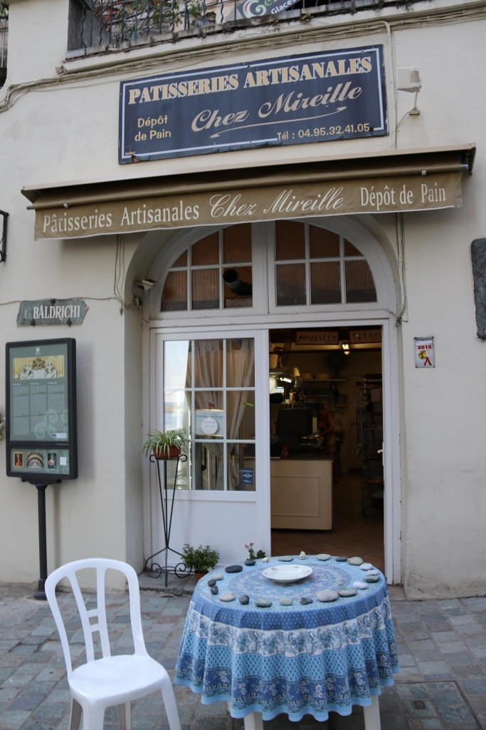Chez Mireille is a well know patisserie in Bastia