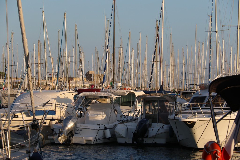 The Marina Riva di Traiano is  quite a large marina catering for the many boat owners from Rome and surrounding cities