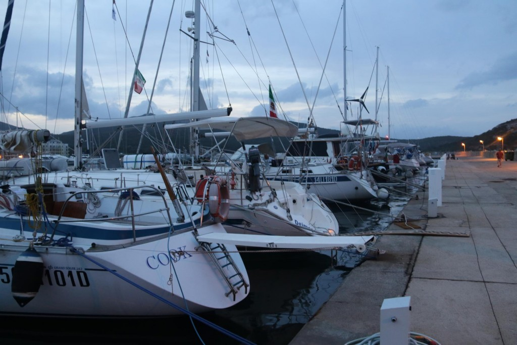 The long yacht pier for visiting yachts