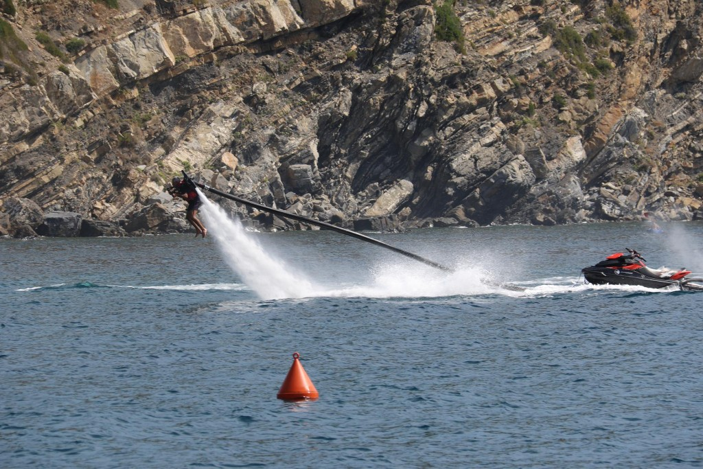 A Water Jet Pack in action