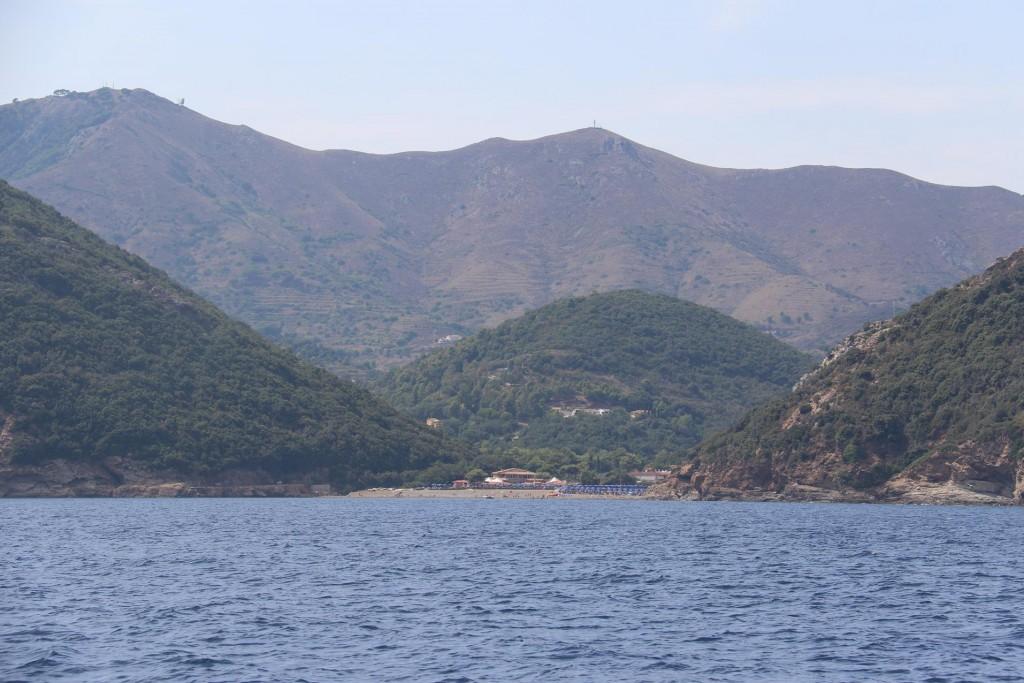 Naregno Beach near the town of Porto Azzurro