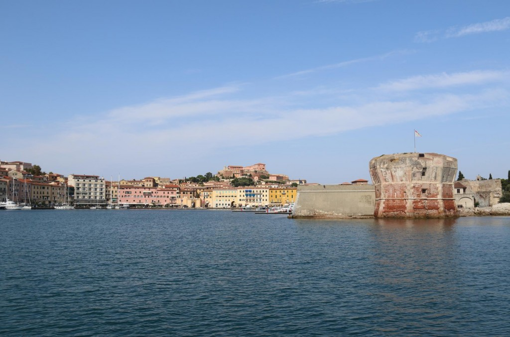 Portoferraio is a very popular port especially in the summer months