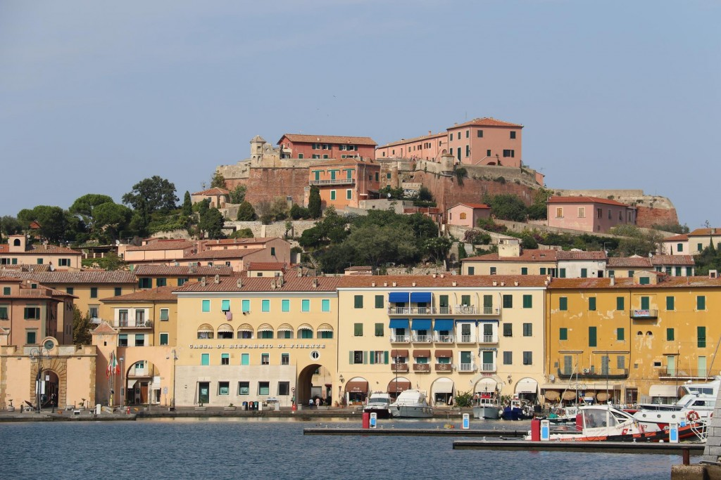 Behind the harbour is the 16th century citadel