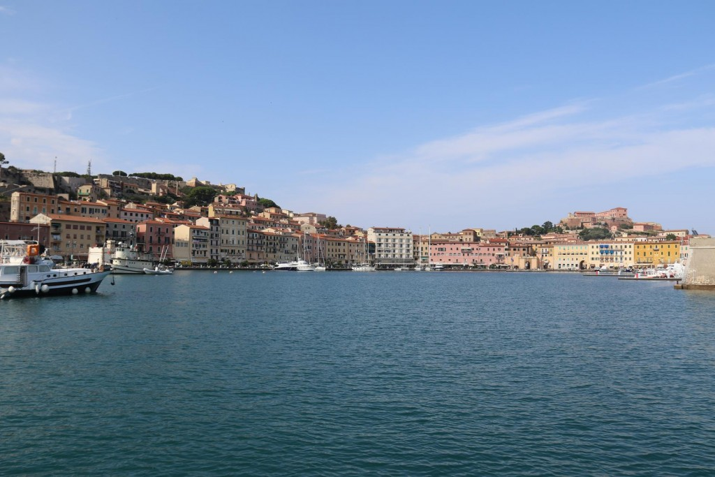 In 1814 Napoleon Bonaparte was exiled to the island of Elba and lived here in Portoferraio for only 300 days
