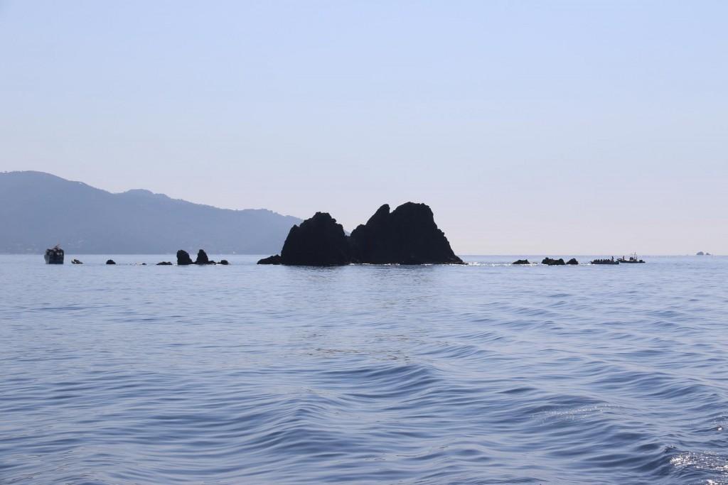 A popular diving spot