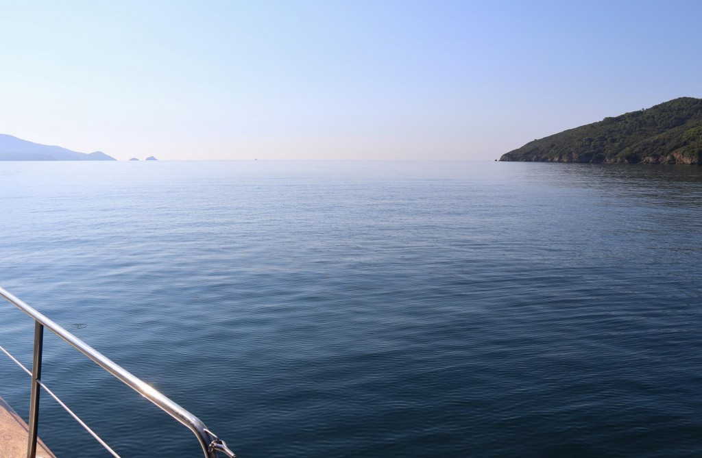 Early morning over the large Golfo Stella in southern Elba
