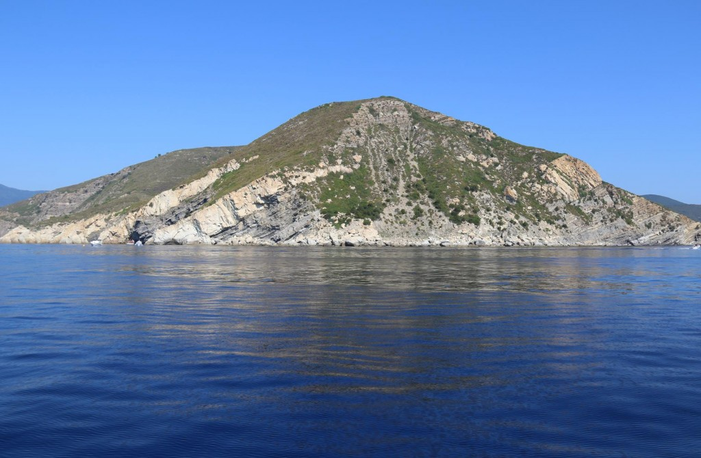 The scenery is stunning along the southern coast of Elba