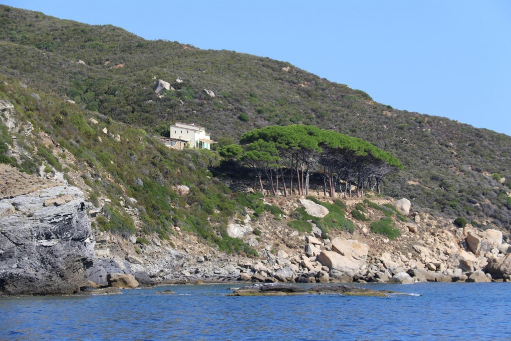 1 (24) Another lovely waterside home nearby by Punta di Mele at the entrance to Golfo di Campo