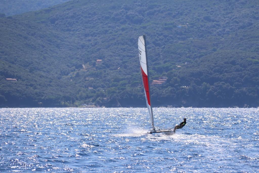 It appears sailing is a popular sport in Golfo di Viticcio