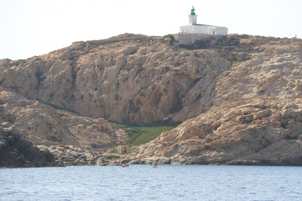 The lighthouse by Ile Rousse