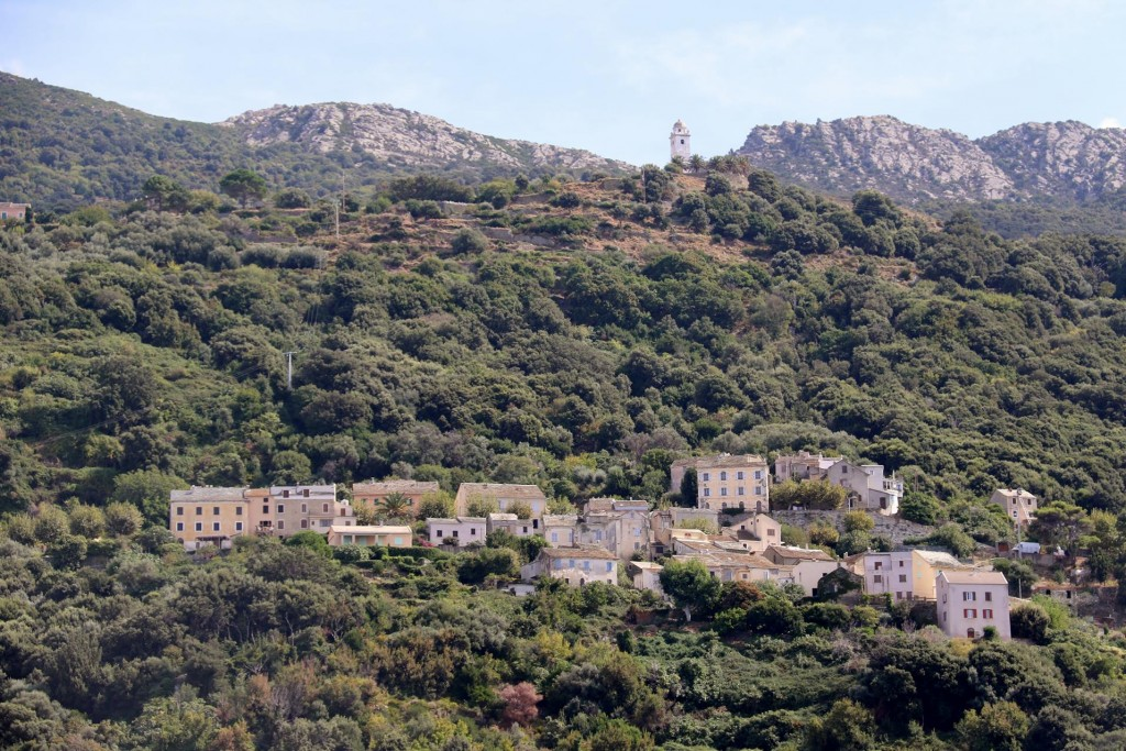 We pass the lovely town of Marinca on the west coast of Cap Corse