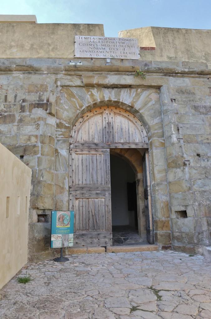 We enter the old fort