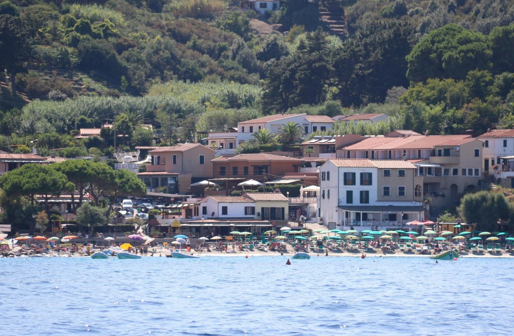 Sant' Andrea is on the north west tip of Isola d'Elba